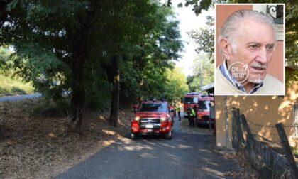 Scomparso dall'11 settembre: riprendono le ricerche del 79enne Angelo Casarini